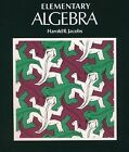 Elementary Algebra by Harold R Jacobs 1979 Hardcover