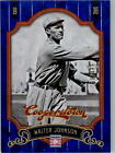 2012 Panini Cooperstown Crystal Collection Blue Baseball Card Pick