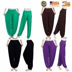 Women Harem Yoga Loose Long Pants Belly Dance Boho Sports Exquisite Trousers