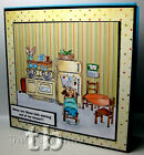 Kitchen Appliances not Madge RETIRED Art impressions Rubber Stamps