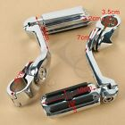 1 1 4 125 Long Angled Adjustable Highway Foot Pegs Peg Mount Kit For Harley