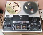 SONY TC 377 REEL TO REEL TAPE RECORDER SERVICED  TESTED WORKS WELL Top Shape