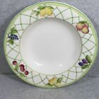 MIKASA CASUAL Y4001 FRUIT RAPTURE LARGE RIMMED SOUP BOWL 9 1/8 INCH