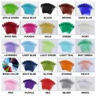50 100 200 500 Organza Wedding Party Favor Gift Candy Sheer Bags Jewelry Pouch