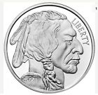 Sunshine Minting Buffalo 1 Troy oz .999 Fine Silver Round w Security Feature