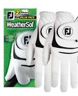 New FootJoy WeatherSof 2 Pack Golf Gloves Value Pack Select Size