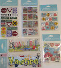 Jolees Boutique Scrapbooking Stickers Lot ROAD TRIP Vacation Travel Signs Map