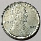 1943 Steel Lincoln Penny AU No Reserve