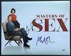 LIZZY CAPLAN & MICHAEL SHEEN SIGNED 11X14 PHOTO PSA DNA COA MASTERS OF SEX CAST
