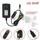 5V 3A Micro USB AC Adapter DC Wall Power Supply Charger for Raspberry Pi 3 3B 2B