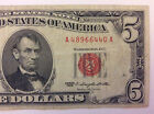 1963 $5 Red Seal Note