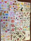 Lot Of 50 Mixed Sizes Mrs Grossmans Stickers ABC123