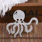 Metal Cutting Dies Stencil Scrapbooking Paper Cards Stamping Template Octopus