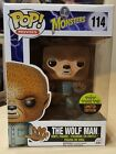 FUNKO POP MONSTERS WOLF MAN FLOCKED #114 TOY TOKYO 2015 SDCC EXCLUSIVE