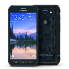 UNLOCKED Samsung Galaxy S6 Active G890A CAMO BLUE GLOBAL GSM 4G LTE Phone AT