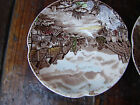 1 Lunch Dessert Plate Olde English CountrySide JOHNSON BROS engrave in England