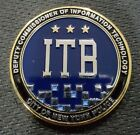 RARE NYPD challenge coin Deputy Commissioner of Information Technology Bureau