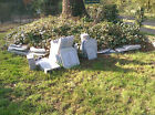 Solid Granite Garden stone Table seat stool bench about 45 pieces ex Display