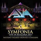 ASIA Symfonia Live In Bulgaria 2013 with bonus track John Wetton JAPAN 2 CD SET