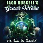 JACK RUSSELL'S GREAT WHITE He Saw It Comin' with Bonus Track JAPAN CD