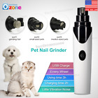 Pet Dog Cat Nail Claw Grooming Grinder Trimmer Clipper Electric Nail File Supply