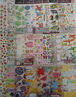 Scrapbooking Stickers Lot STICKO EK Success Flowers Letters Birthday Hearts Mom