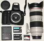 Canon EOS 50D 151MP DSLR Camera with Canon EF 70 200 28 L lens