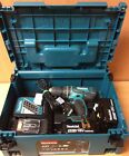 Makita DHP456RMJ Combi Hammer Drill - 18v - Stacking Case - Charger