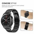 For Samsung Gear S3 Frontier / S3 Classic 22mm Band Stainless Steel Metal Strap