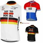 SOUDAL LOTTO Cycling Jersey Shirt Retro Bike Ropa Ciclismo MTB Maillot