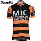 MIC MONEYMAKERS GRIBALDY Cycling Jersey Shirt Retro Bike Ropa Ciclismo MTB Maill