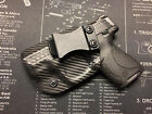 Left Hand MP Shield 40 9mm CARBON FIBER BLACK Kydex Holster IWB CCW