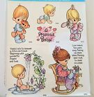 Precious Moments Babies Rubber Stamp Set Stampendous Foam Mounted UNINKED USS302