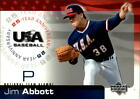 2004 USA Baseball 25th Anniversary Baseball Card Pick