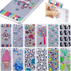 Cute Pattern Rubber Silicone Clear Soft TPU Back Cover Case For Various Phone
