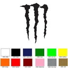 Monster Energy Logo Decal Window Sticker You pick Color  Size