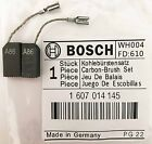 Genuine Bosch Carbon Brushes 1607014145 for GWS 6-115 E 6-115 Angle Grinder S44