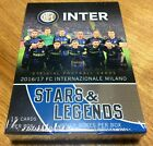 EPOCH AUTHENTICA 2016 17 INTER MILAN STARS & LEGENDS BOX (3PACKS) JAPAN ONLY