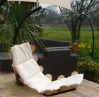 EX DISPLAY WOODEN Hammock Chair Hanging Chair and Stand garden deck