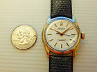 GENUINE ROLEX ANTIQUE 14K GOLD FILLED 34MM AUTOMATIC OYSTER PERPETUAL 6634