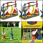 Lawn Darts Set with Caddy Garden Outdoor Games Kids Toss Play Kit Sport Yard Toy