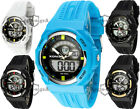 Men's sports watch XONIX, LCD + analogue, stopwatch, water resistant 100m