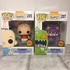 Funko Pop! Animation Nickelodeon 90's Rugrats CHASE Tommy Reptar Set Mint in Box