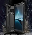 R JUST Shockproof Metal Aluminum Heavy Duty Case Cover For Samsung S8