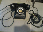 Vintage Western Electric Bell System F1 Rotary Dial Telephone Phone Red Numbers