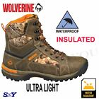 Insulated Waterproof Camouflage Leather Mesh hunting hiking WORK boots wv