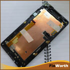 Original LCD Display Touch Screen Digitizer Assembly +Frame For HTC Desire 600 B