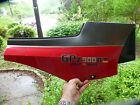1984 1985 1986 Kawasaki GPZ900R Right side Cover Red & Black