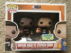 Funko Pop SDCC2015 Exclusive Stephen Curry & Dwyane Wade 2pack Limited Edition