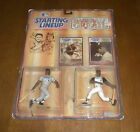 1989 STARTING LINE UP BASEBALL GREATS PIRATES WILLIE STARGELL & ROBERTO CLEMENTE